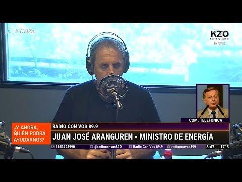 """Juan José Aranguren en """"¿Y ahora quién podrá ayudarnos?"""", de Tenembaum - 29/03/18"""
