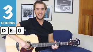 Marry You - Bruno Mars - Easy 3 Chord Guitar Song Tutorial Guitar Lesson