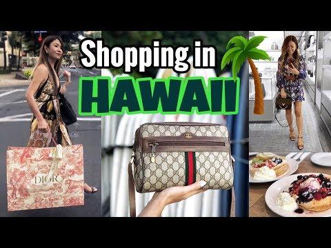 HAWAII TRAVEL VLOG - Part 2 | GUCCI, LV, CHANEL, YSL, Sightseeing & Eating