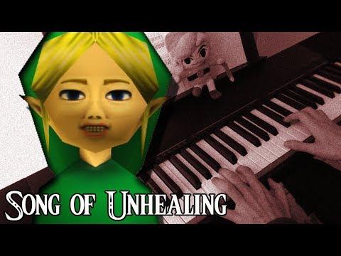 "Song Of Unhealing ""Zelda Majora's Mask"" BEN DROWNED CREEPYPASTA | Piano Cover"