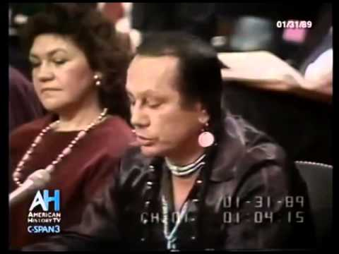 A short clip from American Indian Activist Russell Means Powerful Speech, 1989
