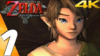 Legend of Zelda Twilight Princess HD - Gameplay Walkthrough Part 1 - Prologue (Remaster) 4K