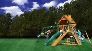 Blue Ridge Frontier Swing Set - Gorilla Playsets