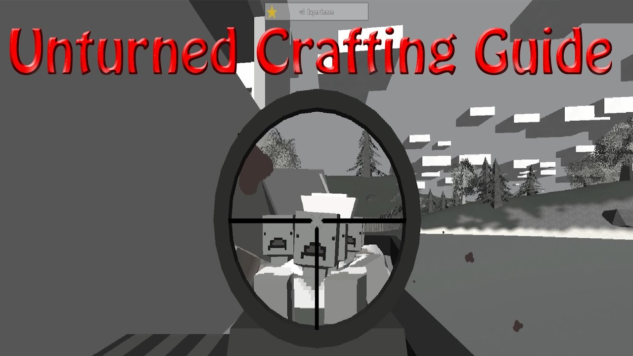 Unturned Crafting Guide How To Craftlongbowarrowswooden Spikewooden Spike Trap
