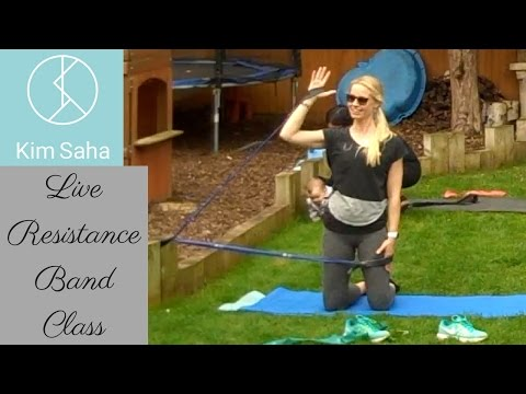 Live Resistance Band and Pilates Ring Class