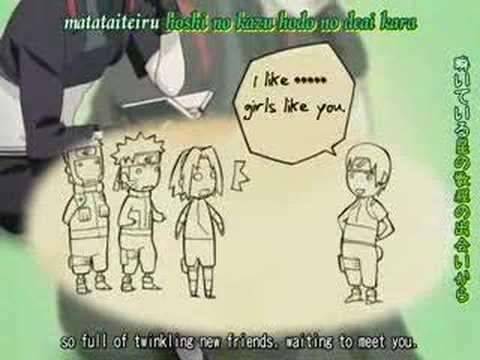 Naruto sigla shippuuden finale nuova-Kimi Monogatari