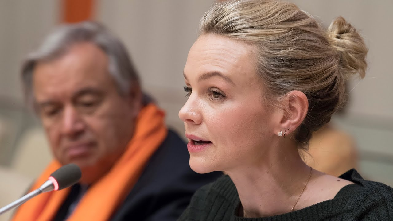 Carey Mulligan - International Day for the Elimination of Violence against Women