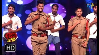 Somesh and Shresti Performance | Dhee Jodi | 24th October 2018 | ETV Telugu