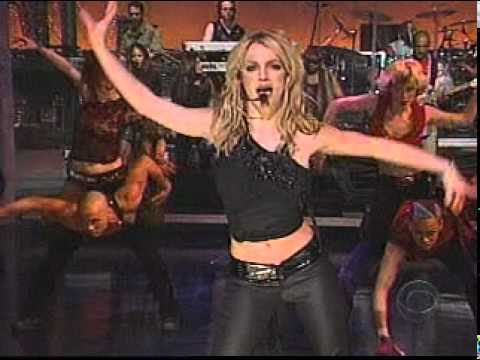 Britney Spears - I'm A Slave 4 U (David Letterman Show Performance)