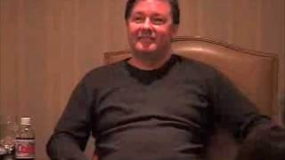 Ricky Gervais on the