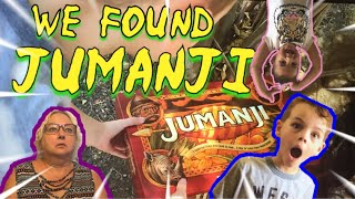 We found Jumanji in our front yard !!!! | Jumanji | Jumanji board game