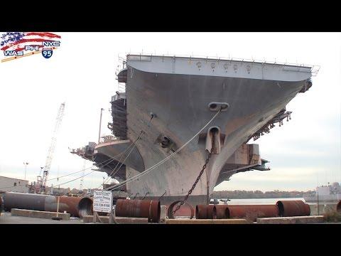 Navi abbandonate della Seconda Guerra Mondiale The Navy Yard Philadelphia PA ネイビーヤード