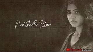 Ninaithadhu Ellam Tamil Sad Whatsapp Status