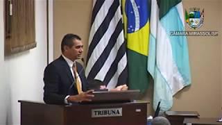12ª Sessão Ordinária - Vereador Sérgio Leiteiro
