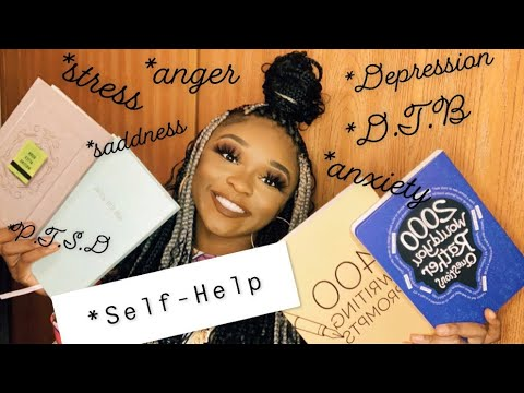 Self-Help Books | Depression, Stress, & Anxiety 😌💆🏾‍♀️
