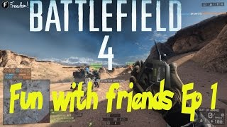 Battlefield 4 funny moments - C4 bikes, trolling teammates and random trolls - Fun with friends Ep 1