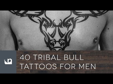 40 Tribal Bull Tattoos For Men