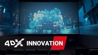 4DX з ScreenX Марка причепа | всередині театру 360º ВР