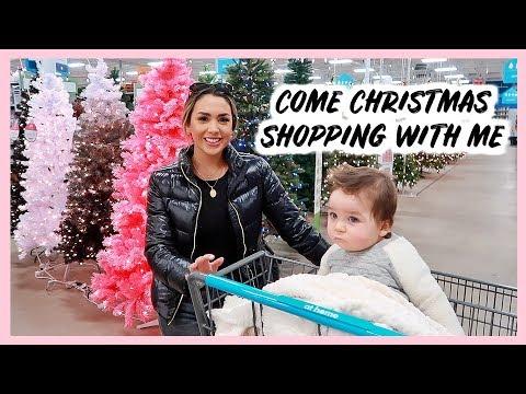 CHRISTMAS DECOR SHOP WITH ME 2018