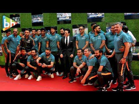 Sachin Tendulkar With Indian Cricket Team At GRAND Premiere Of Sachin: A Billion Dreams