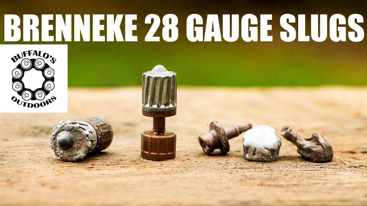 BRENNEKE 28 GAUGE SLUGS - TriStar Viper G2