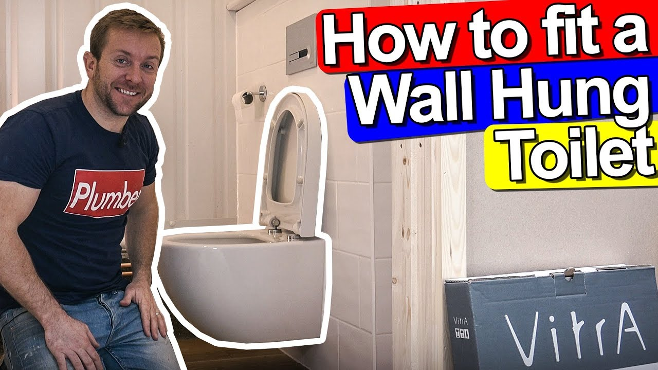 How To Fit A Wall Hung Toilet Concealed Frame Vitra