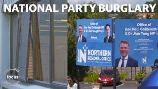 Thieves steal laptops from National Party HQ | nzherald.co.nz