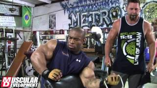 Cory Mathews - High Volume Arm Training