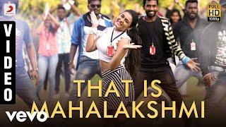 100% Kaadhal - That Is Mahalakshmi Video| G.V. Prakash Kumar, Shalini Pandey