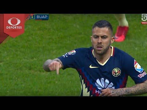 Gol de Ménez | América 5 - 1 BUAP | Clausura 2018 - Jornada 5 | Televisa Deportes