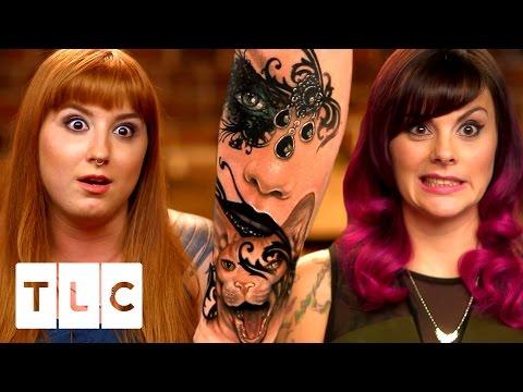 The Girls HATE Amazing New Artist Liz | Tattoo Girls