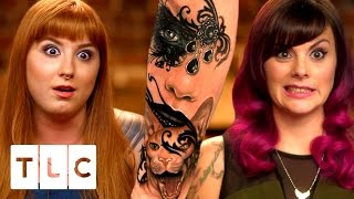 The Girls HATE Amazing New Artist Liz | Tattoo Girls