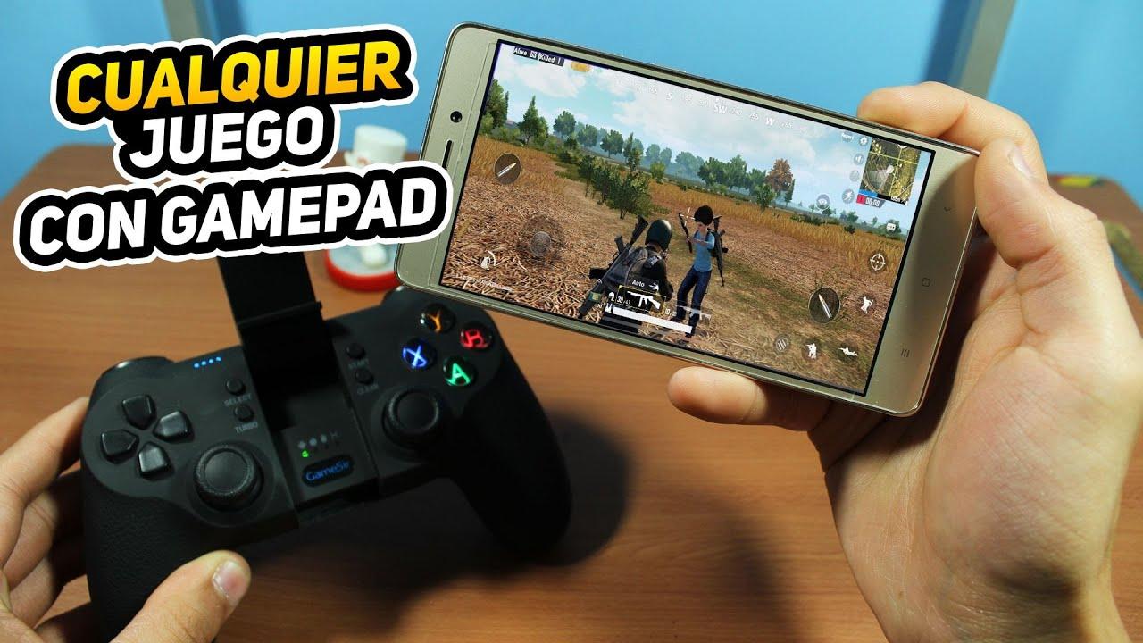 Configurar Gamepad O Mando Para Cualquier Juego Android 2018 No