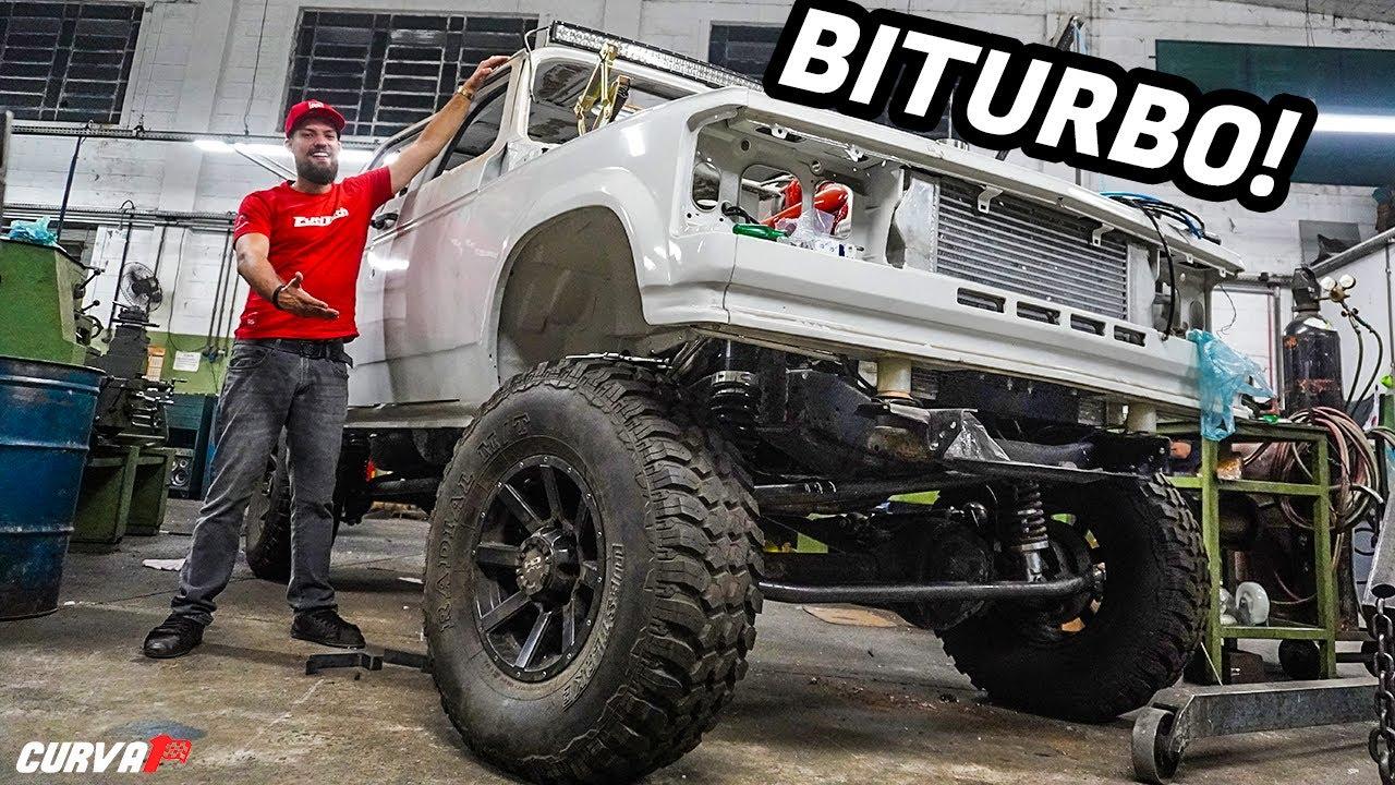 Chevrolet D20 Biturbo, ela ainda vai ficar maior!