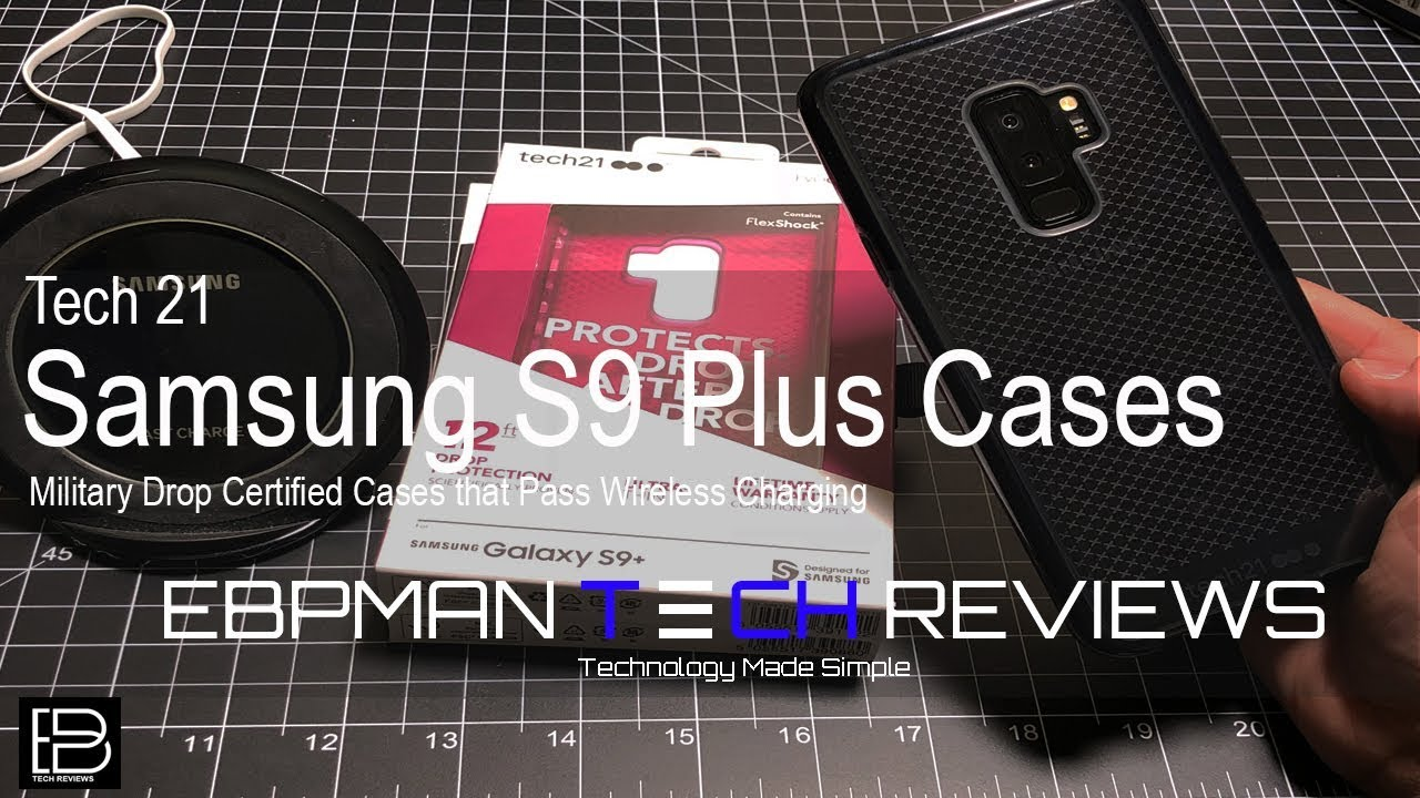 online retailer 13561 79a7e Best Samsung Galaxy S9 & S9 Plus Cases from Tech 21 with Wireless Charging  Test