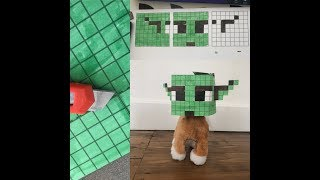 How to make a Minecraft Yoda BoxHead, this one's for ted!