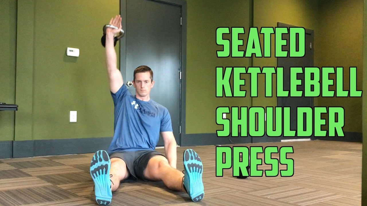 Watch How to Do the Kettlebell Chair Press video