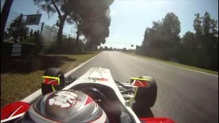 Imola Formula 3 Onboard Michael Lewis 2011