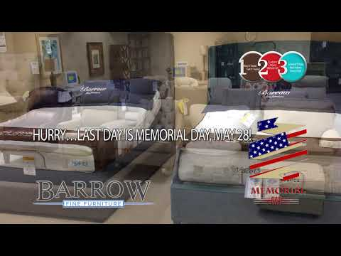 Barrow Fine Furniture Memorial Day Clearance Sale