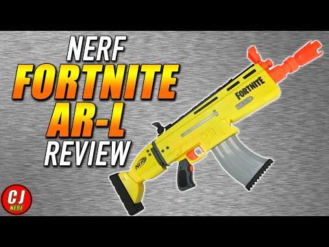 Nerf Fortnite AR-L - 2019 Motorized Dart Blaster Review