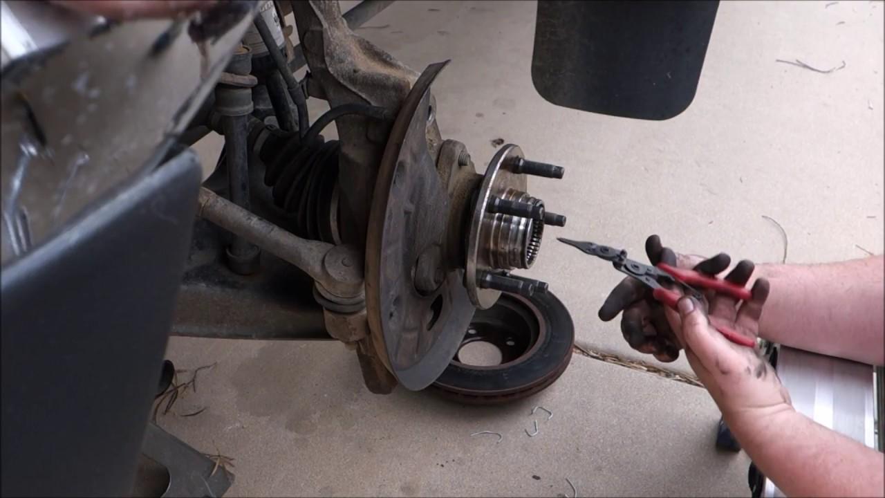 hight resolution of 98 ford ranger 4x4 front bearing romoval and install youtube 1999 ford ranger front hub diagram 99 ranger hub diagram