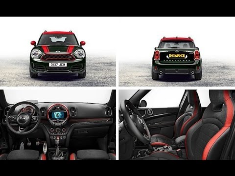 2018 Mini John Cooper Works Countryman All4 Is Most Ful Jcw Ever Model