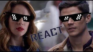 Snowbarry Shippers Reactions (3x13)