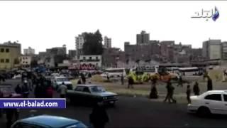 بالفيديو والصور..'صدى البلد' يرصد تقاعس تنفيذيي المطرية عن انهاء أعمال تطوير الميدان
