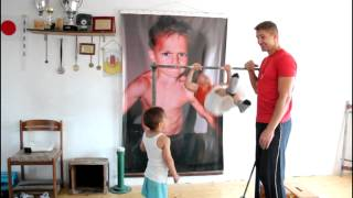 Muscle-ups World Record , is one kid !