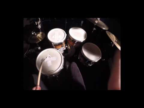 Wage War - Stitch (Drum Cover) first person - GoPro