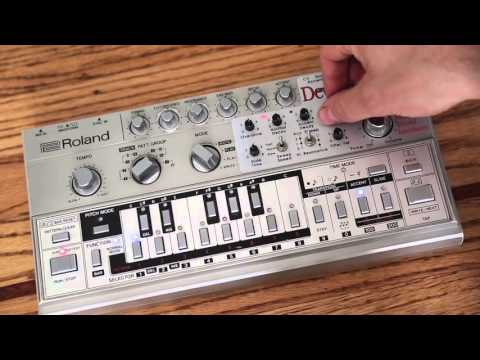 Roland TB303 Devilfish Demo Vintage Analog Synthesizer