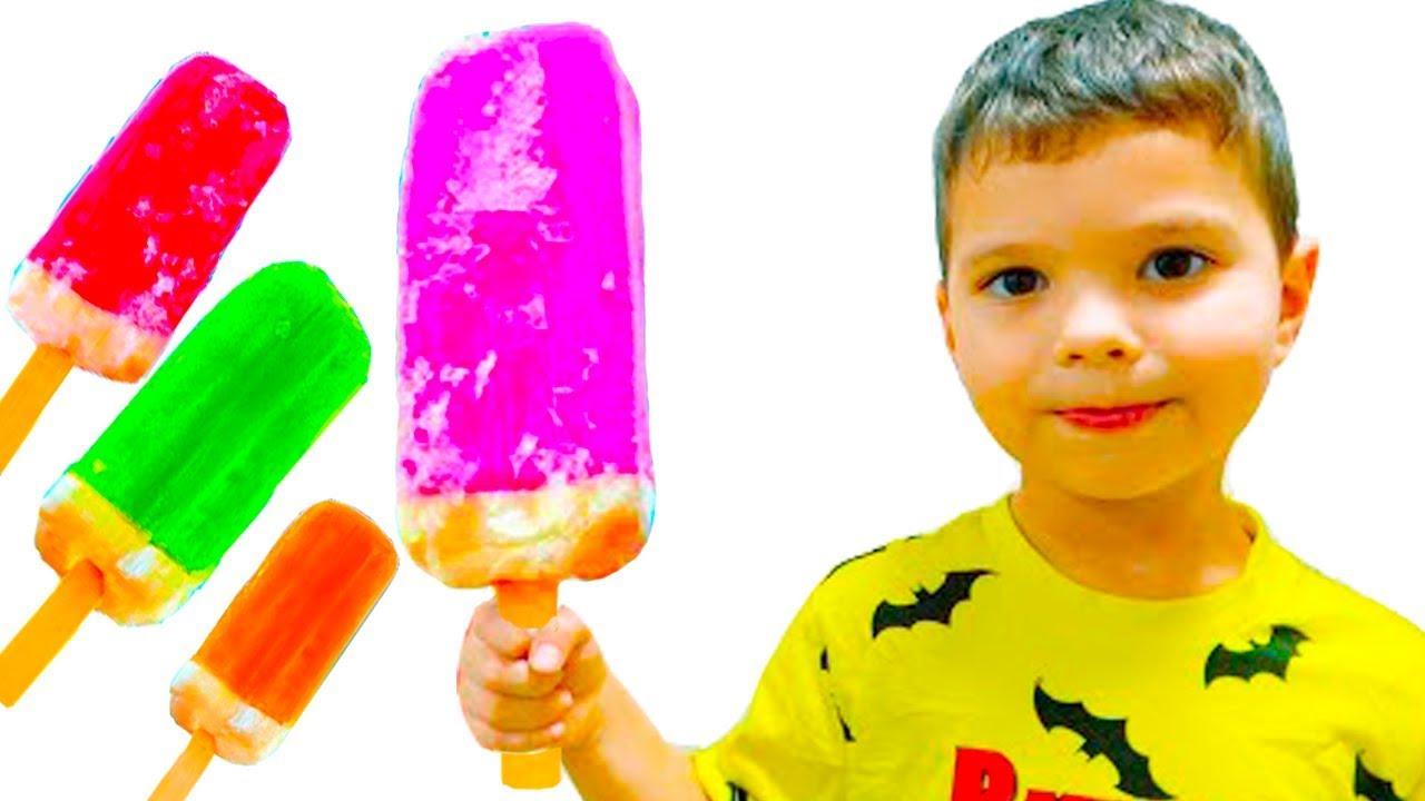 Егорка и Ярик Продают Мороженое