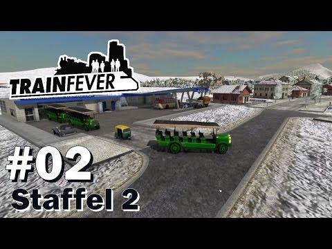 TRAIN FEVER S2/#02: Erste Busse und Rikschas [Let's Play][Gameplay][Deutsch][1440p]