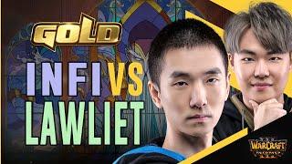 WC3R - WGL WINTER - Quarterfinal: [HU] Infi vs. LawLiet [NE]